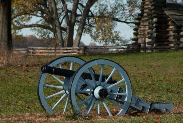 historic civial war cannon